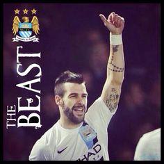 The Beast (Alvaro Negredo) #mcfc #mancity #manchester #city