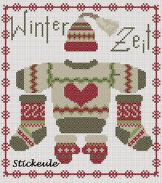 Stickeule: winter clothing