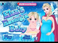 Frozen Elsa's Having A Baby - Frozen Dress-up Games