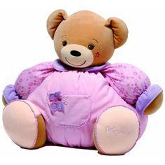 Maxi patapouf ours Lilirose - #Kaloo: un cadeau prestigieux, cette peluche #Kaloo fera la joie des petites filles pendant de longues années. Elle sera également une décoration dans la chambre lorsque l'enfant n'est pas là pour la câliner.