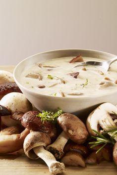 Ramazan iftar menüsü yemek tarifleri / Ramadan food recipes - Mantar çorbası