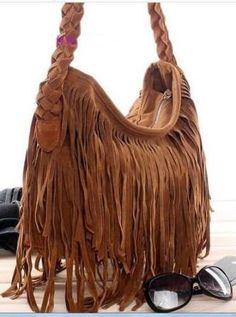 bolsas femininas com franja