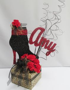 boot centerpiece - Google Search