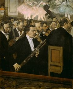 Edgar Degas The Orchestra of the Opera painting is shipped worldwide,including stretched canvas and framed art.This Edgar Degas The Orchestra of the Opera painting is available at custom size. Edgar Degas, Artist Canvas, Canvas Art, Canvas Prints, Canvas Size, Canvas Poster, Monet, Degas Paintings, Art Français