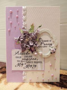 Bildergebnis für свадебная открытка скрапбукинг