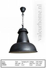 Hanglamp Logan zwart