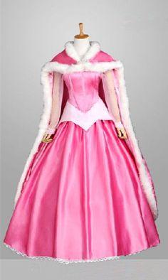 Princess Aurora Costume, Princess Fancy Dress, Disney Princess Dresses, Princess Costumes, Disney Costumes, Disney Dresses, Mermaid Costumes, Pink Princess, Costume Dress