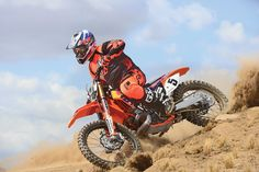 """The """"Dungey Dragon"""" has a 2000 KTM 380SX motor in a 2013 KTM 250SX-F chassis."""