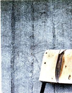 Hand gilded burlap strips, comprise the essence of this handcrafted wallcovering.  Design by: ArtExperiment