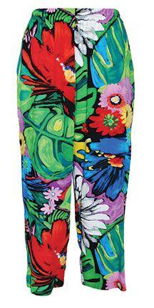 Women's Beach Pant - Flower Vibes - W759 FLVI