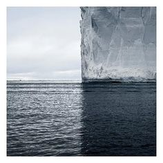 :: ART :: PHOTOGRAPHY :: Photo Credit: David Burdeny, Mercators Projection, Antarctica 2007.  - adore the work of this amazing talent.  When water meets ice meets air, reflection and composition, this would make a great piece for an interior - covet and love! #art #DavidBurdeny