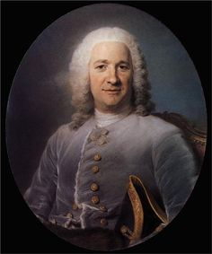 Jean Paris de Montmartel -  Maurice Quentin de La Tour