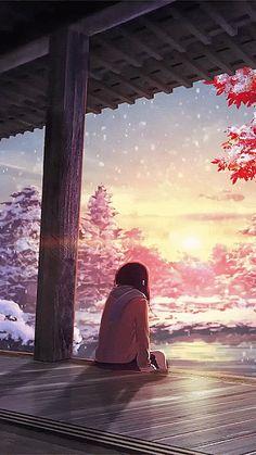 Hình nền động Anime hoàng hôn tuyệt đẹp Whats Wallpaper, Anime Wallpaper Live, Anime Scenery Wallpaper, Hd Wallpaper, Anime Backgrounds Wallpapers, Live Wallpapers, Animes Wallpapers, Aesthetic Art, Aesthetic Anime