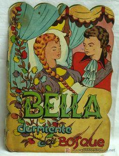 La Bella Durmiente del bosque cuento troquelado Ediciones Redecilla años 50 - Foto 1