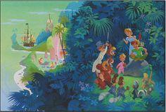 Peter Pan wall mural for Nixon's room :)