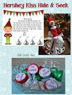 Jedi Craft Girl: Elf on the Shelf Hide & Seek
