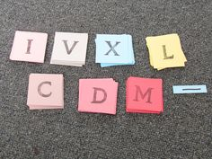 Games For Learning: Roman Numeral Oh Nuts!