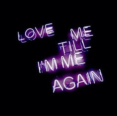 neon and phrases image on We Heart It