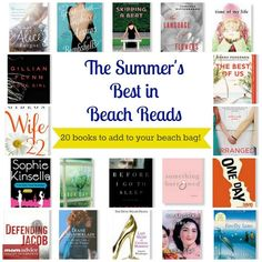 20 great beach reads- can't wait to pick these up!