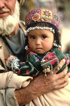 Afghanistan Portraits ~ Mazar i Sharif. 1991.   © Steve McCurry