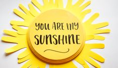 You are My Sunshine Handprint Craft for Preschoolers. 7 Best Fun and Easy Sun Crafts for Kids. Super easy toddlers crafts and activities for boys and girls! Quick, cheap and fun preschoolers projects! Sun Crafts, Diy Mother's Day Crafts, Easy Arts And Crafts, Preschool Crafts, Kids Crafts, Elderly Crafts, Daycare Crafts, Daycare Ideas, School Ideas