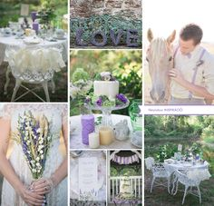 lavander wedding