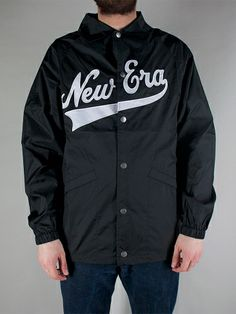 NEW ERA CAPS NE SCRIPT COACH JACKET Giacca - black € 90,00 - See more at: http://www.moveshop.it/ecommerce/index.php/it/articolo/63760/9679/NE%20SCRIPT%20COACH%20JACKET#sthash.rffoo99K.dpuf