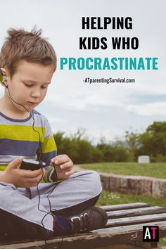 Procrastination is common in children with anxiety or OCD. Learn how to teach your child the skills to stop procrastination and reduce stress. Mental Health Blogs, Kids Mental Health, How To Calm Anxiety, Stress And Anxiety, Anxiety In Children, Adhd Kids, Coping Mechanisms, Coping Skills