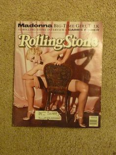 Rolling Stone Magazine Madonna Interview Carrie Fisher Photos Meisel June 1991 #RollingStone