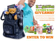 Boogie Wipes Father's Day Giveaway - enter to win great gifts for dads, including an iPad Mini!
