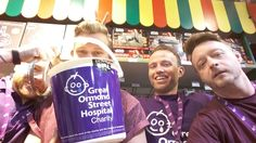 Here is our Leicester team getting into the Gosh fundraising spirit!
