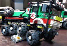 """lego mod 60115 """"Octan 8X8 Trial Truck."""""""