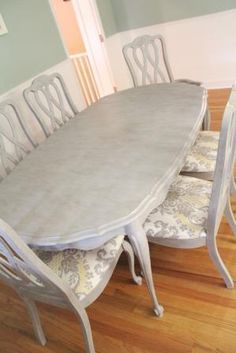 dining table after makeover_1269_small--ASCP in Paris grey