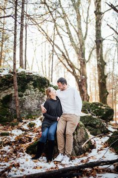 You don't have to be engaged to capture and celebrate your love for each other! Winter Couple Session in Lanark Highlands Ottawa Valley, Winter Photos, Highlands, Photo Sessions, Candid, Engagement Session, Portrait, Couples, Couple Photos