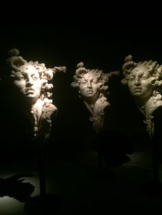 "Javier Marín sculptures ""Corpus"" Antiguo Colegio de San Ildefonso, México, city."