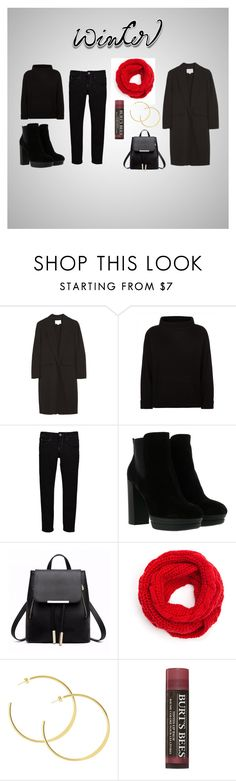 """""""Winterstyle"""" by ririhara on Polyvore featuring Alexander Wang, Jaeger, Levi's, Hogan and Burt's Bees"""