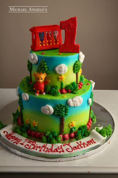 Daniel Tiger #243Characters by Michael Angelo's Bakery | Michael Angelo's Bakery