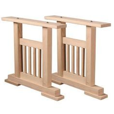 $239.99 for pair ~ use wood from our lot for the top perhaps??