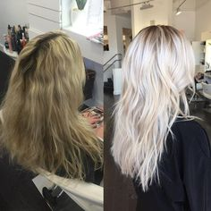 So much YES going on here! Love this transformation by @colorbymichael.