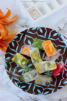 Cubetti di ghiaccio aromatizzati | | Profumo di Cannella e Cioccolato Finger Food, Finger Foods, Snacks