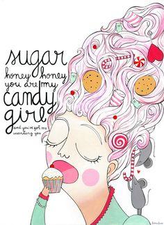 Sugar, oh Honey honey by Lara Luís, via Behance