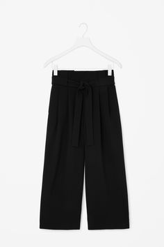 COS   Wide waist pleated trousers