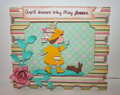 Card Creations by Caroline: April Showers bring May Flowers!