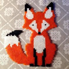 Fox hama beads by theycallme_pg