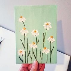 Flower Wall Art Bohemian Wall Painting Floral Wall Decor Bohemian Wall Art S Bohemian Bedroom Art Bohemian decor Floral Flower Painting wall Small Canvas Paintings, Easy Canvas Art, Small Canvas Art, Cute Paintings, Mini Canvas Art, Simple Acrylic Paintings, Flower Paintings, Easy Canvas Painting, Canvas Ideas