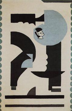 blushingcheekymonkey eileen grey tapis 1925 tapis d 39 artistes pinterest gris gris et. Black Bedroom Furniture Sets. Home Design Ideas