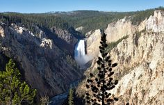 Spanning more than 3,000 square miles in Wyoming, Montana and Idaho, Yellowstone was the country's first national park. The majority of the world's geysers -- including Old Faithful -- are found here, and the park is home to diverse wildlife, from grizzly bears to bison and elk