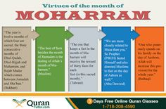 Virtues Of The Month of Muharram