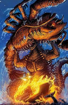 Godzilla Vs. Ebirah art