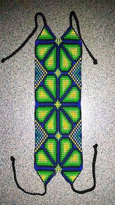 Bead Crochet Patterns, Beading Patterns Free, Seed Bead Patterns, Seed Bead Bracelets, Seed Bead Jewelry, Beadwork Designs, Beaded Purses, Handmade Design, Loom Bracelets